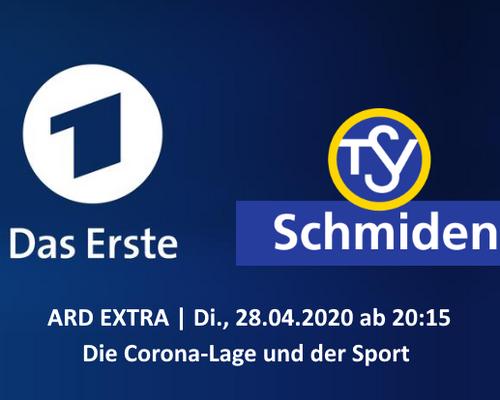 ARD extra - Die Corona-Lage mit dem TSV Schmiden und activity