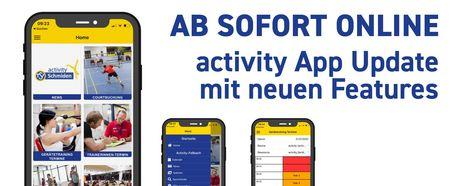 JETZT ONLINE: activity App Update