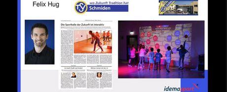 Webinar zu Lü - Das interaktive Spielfeld mit dem TSV Schmiden