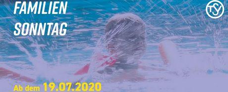 Familiensonntag - ab 19.07. auch wieder mit Kleinschwimmhalle