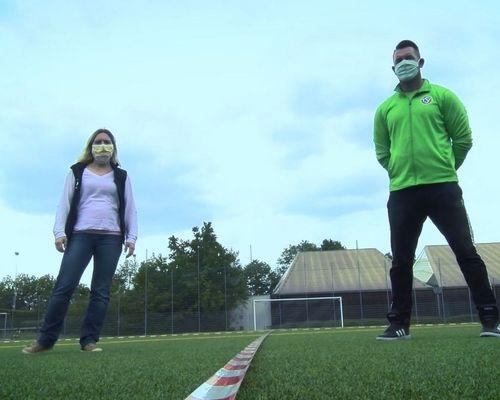 Corona Infektionsschutzkonzept mit den Verhaltensregeln für Trainierende | OUTDOOR