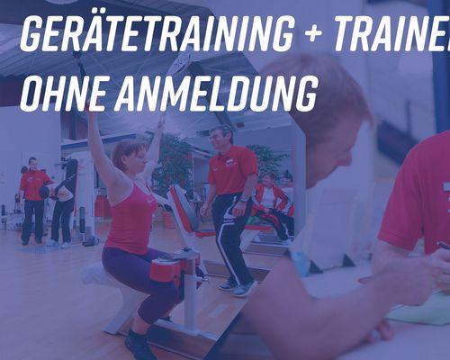 Keine Online-Anmeldung mehr für Gerätetraining + Trainer-Termine