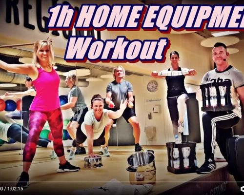 Online Kurs | 1h HomeEquipment Workout