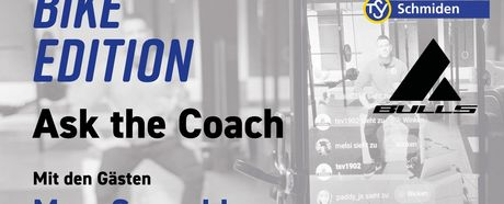 Ask the coach #7: BIKE Edition am Donnerstag, 30.04.2020, 20:30 Uhr
