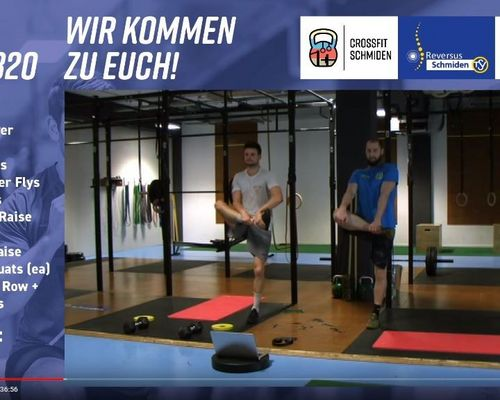 #wirkommenzueuch: Start der zweiten LIVE CrossFit Woche (täglich ab 18.30 Uhr)