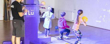 Schulen interessieren sich für interaktives Spielfeld Lü