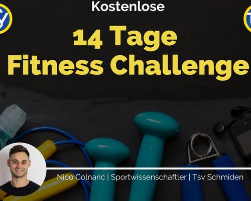 14 Tage Fitness Challenge - für Dich und Deinen Körper